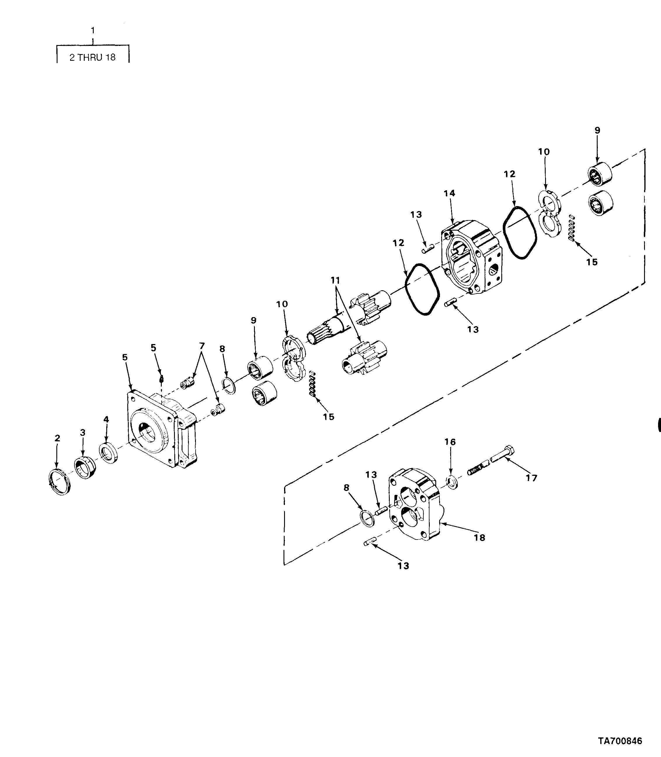 FIGURE 111. HOIST MOTOR ASSEMBLY