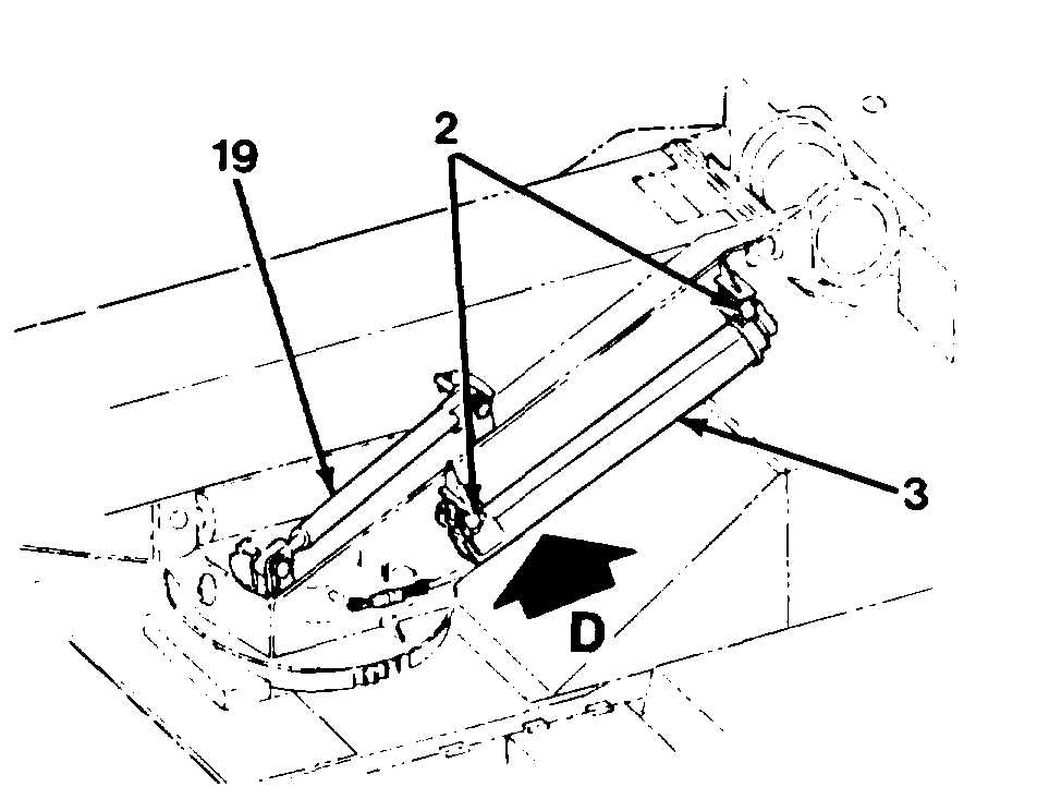 Figure 5-29 Support for Front of Boom