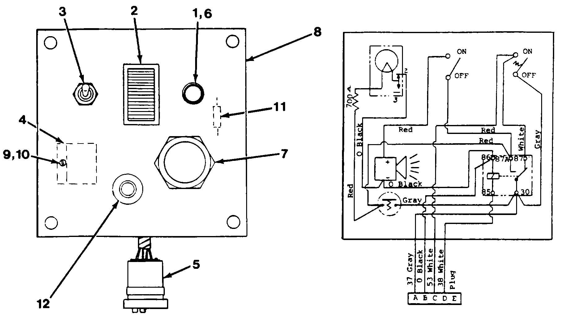 Figure 6-12. Anti-Two Block Control Panel