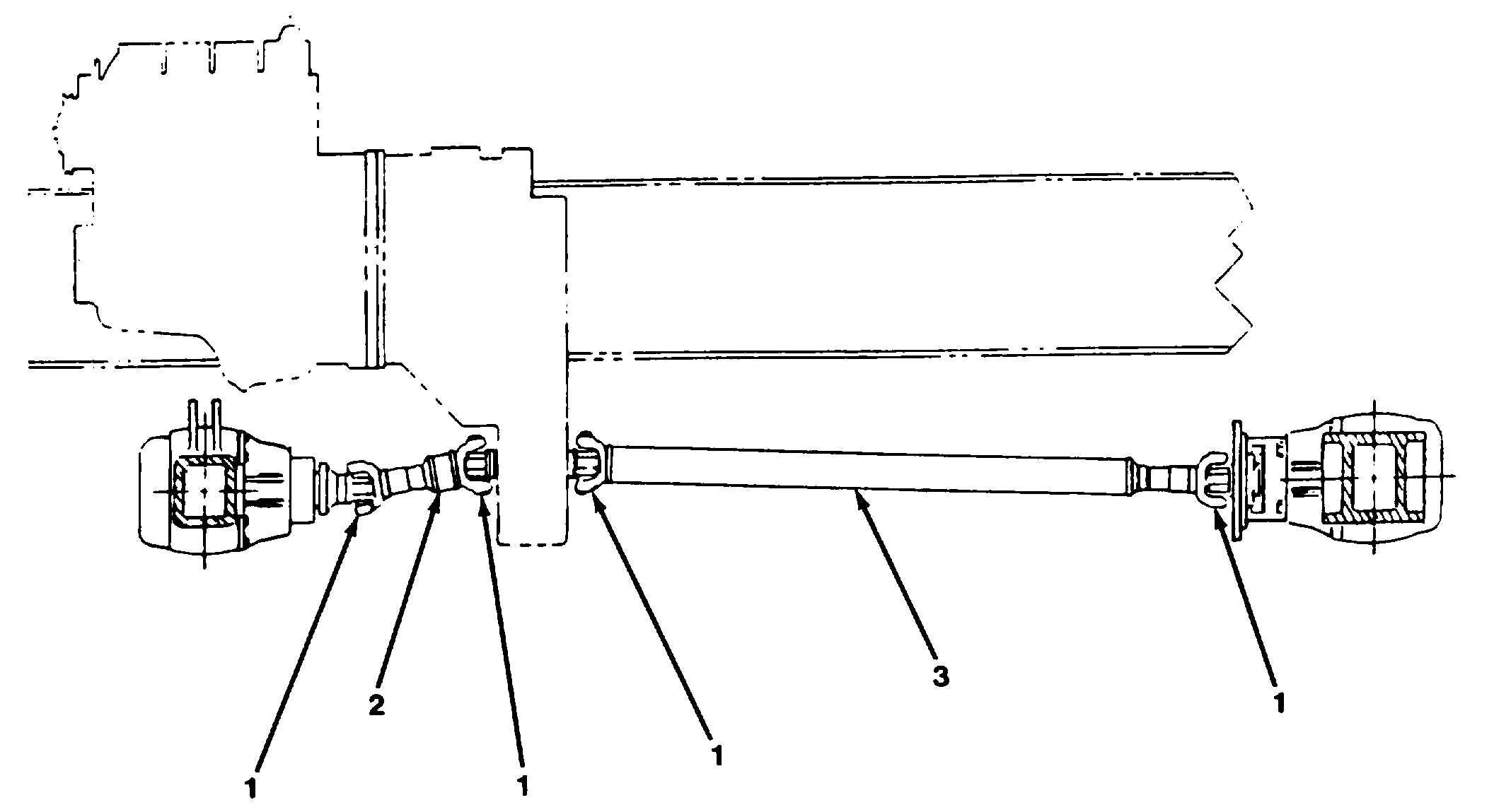 Figure 8-1. Drive Shaft Assembly