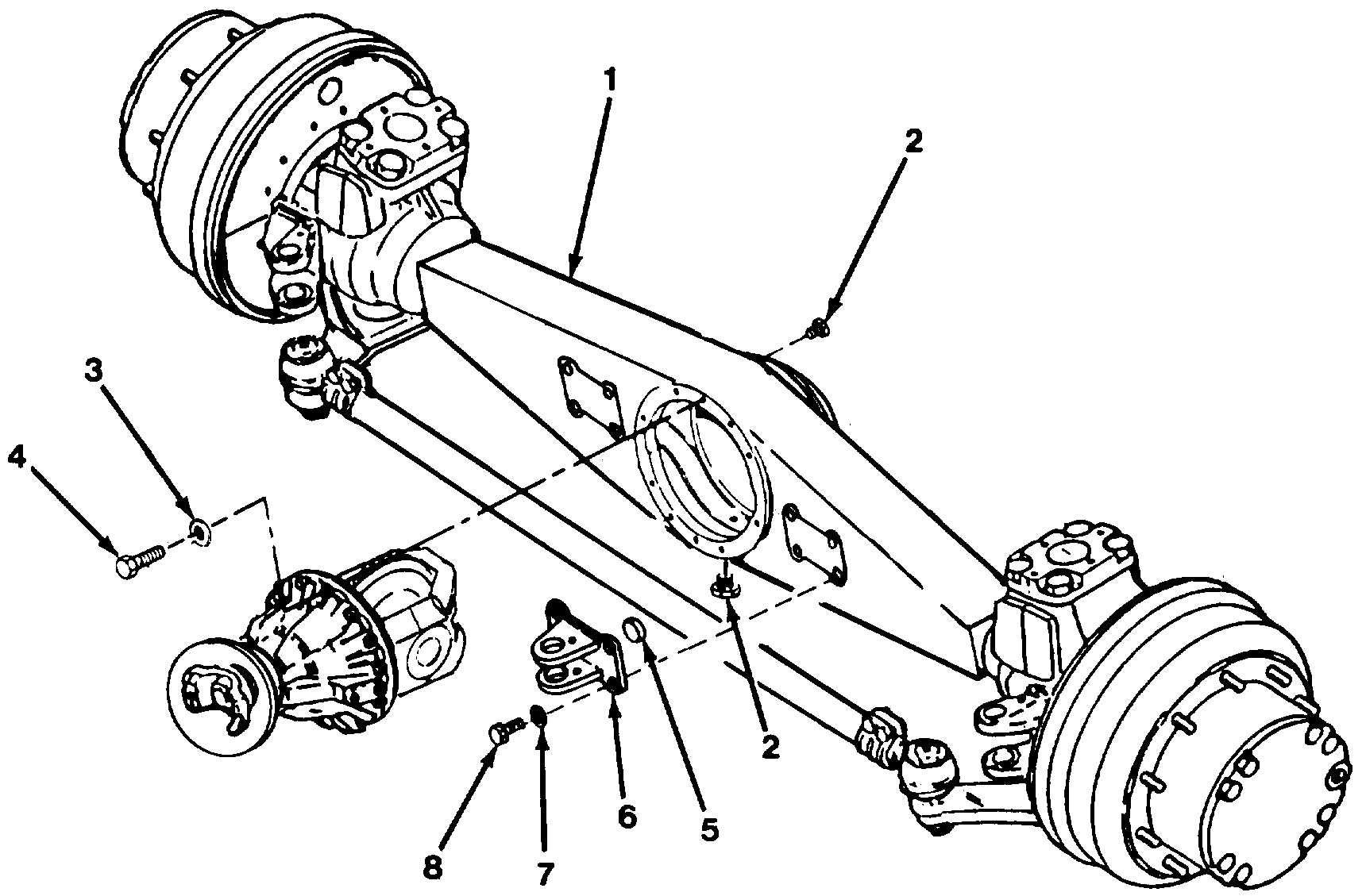 Figure 91 . Front Axel Assembly