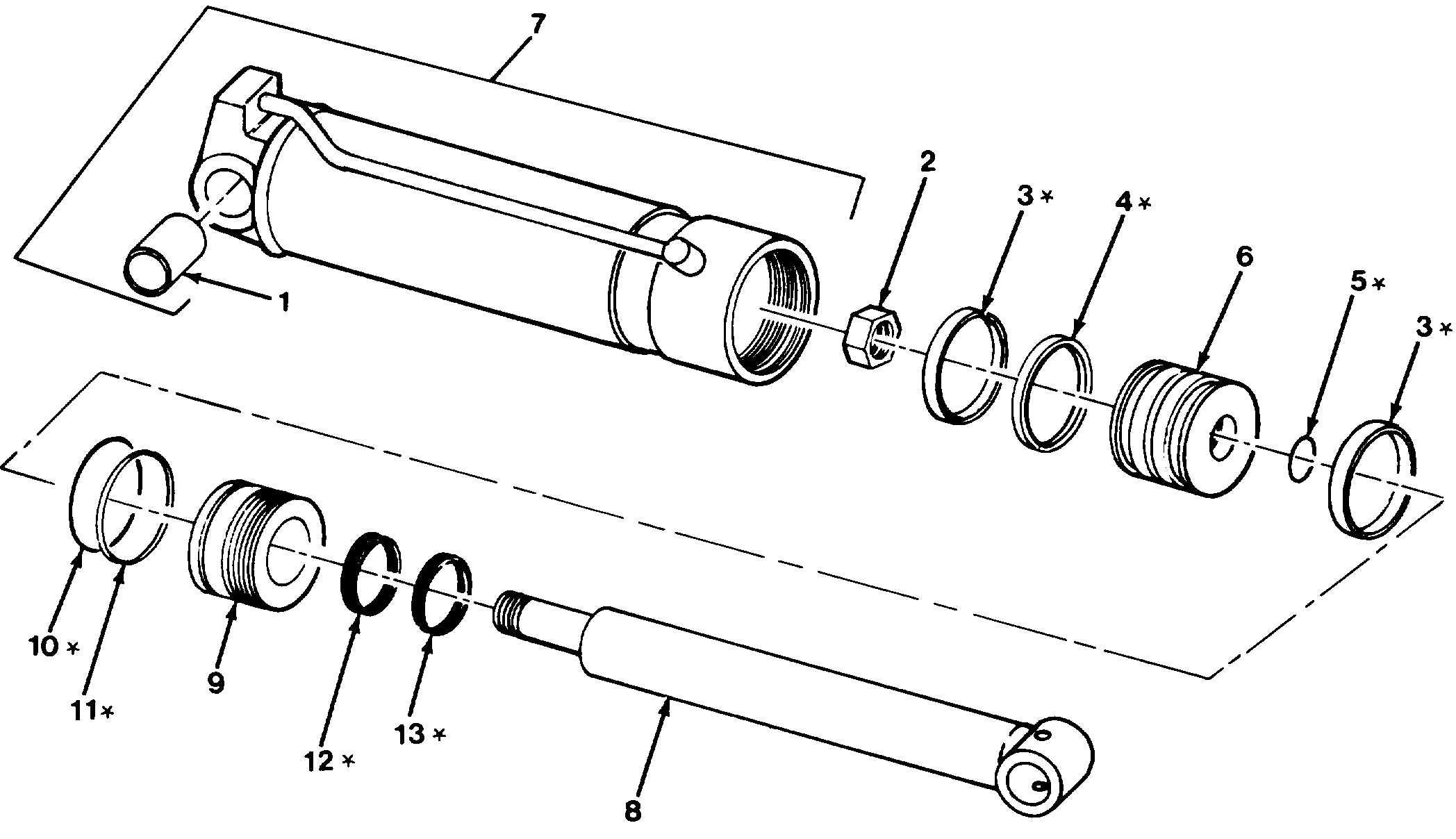 Figure 105. Outrigger Cylinder