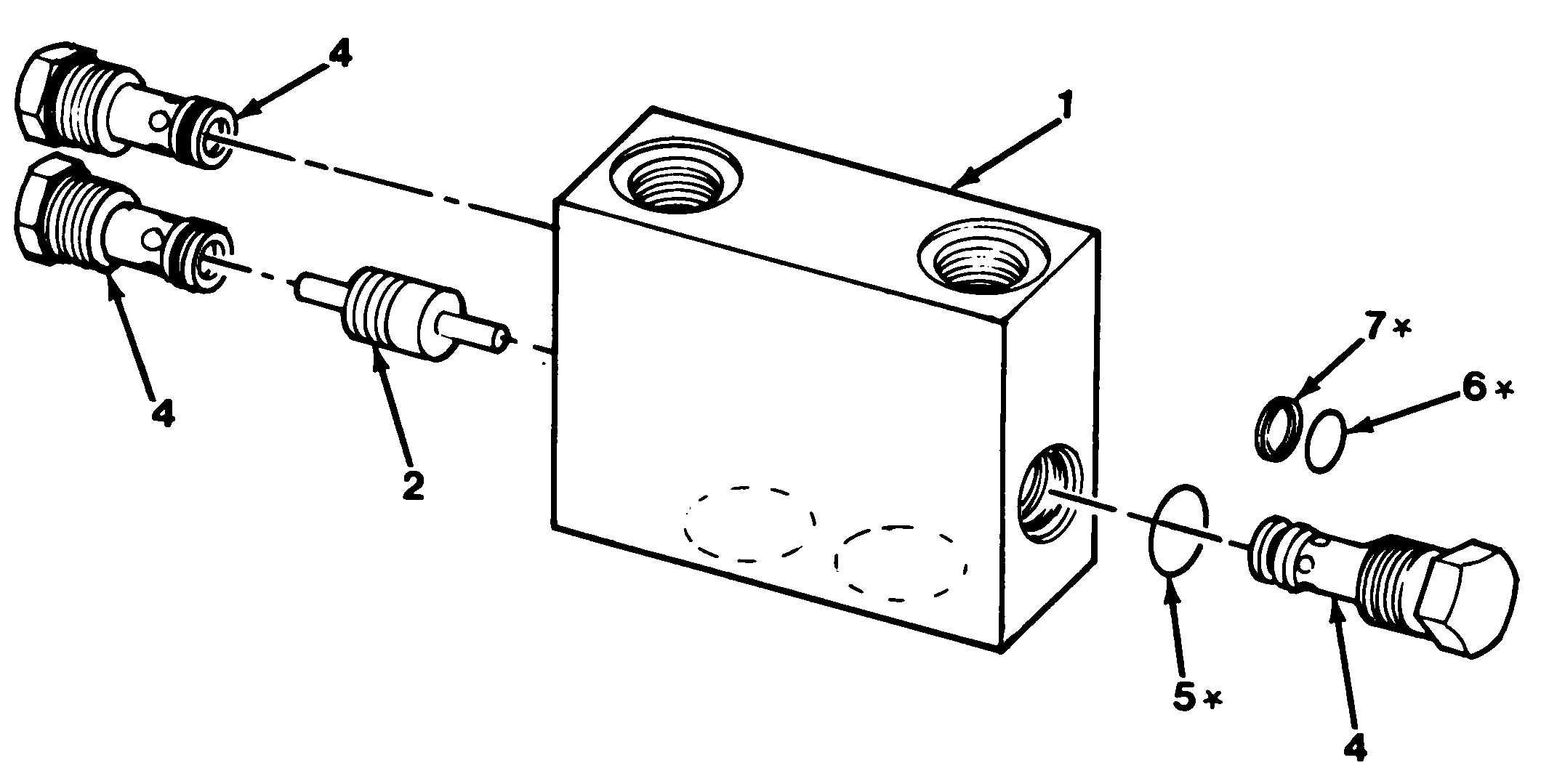 Figure 1026. Steering Valve Fittings