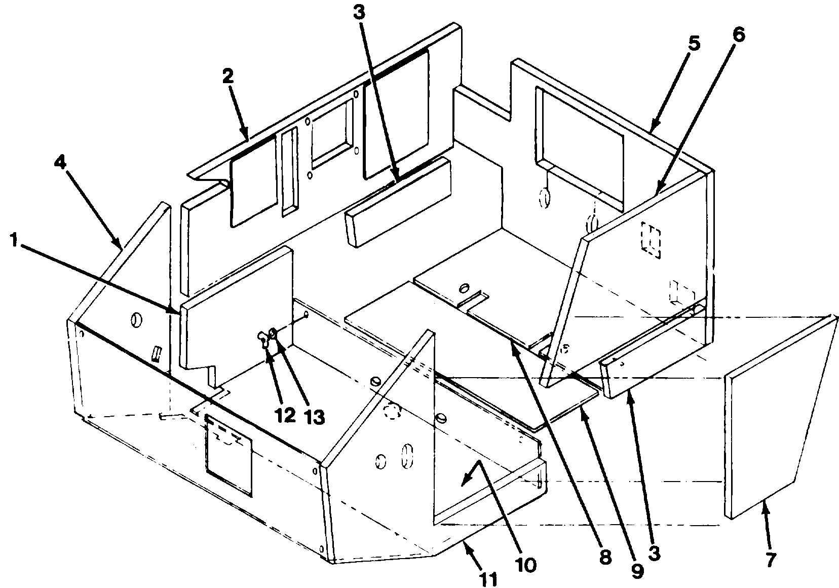 Figure 1110. Cab Insulation