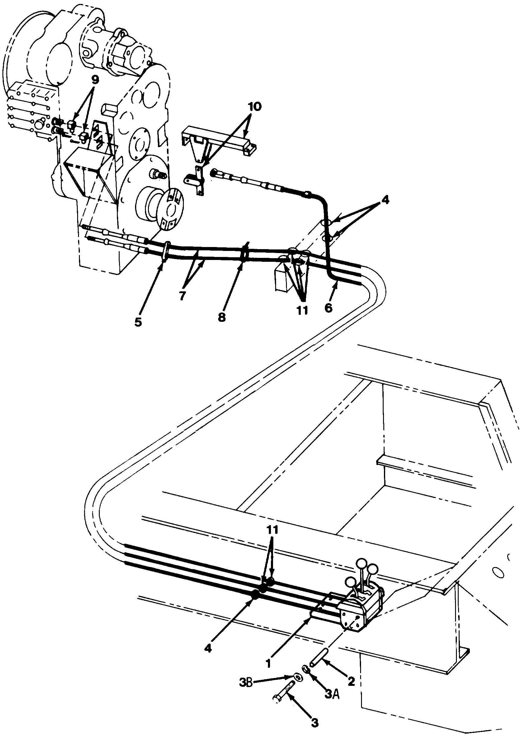 Figure 154. Type II Transmission Shift Assembly