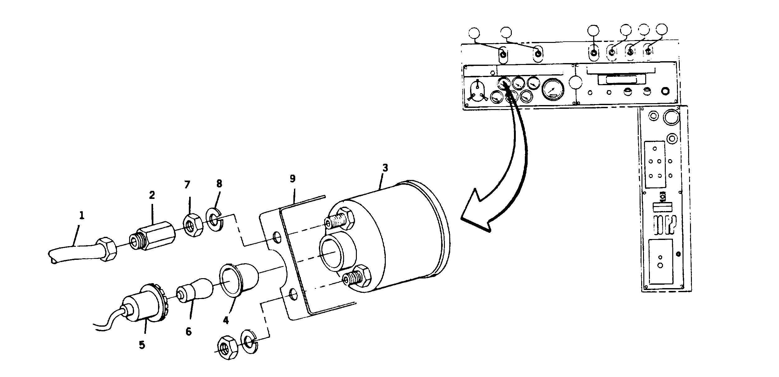 Dual Air Pressure Gauge Replacement