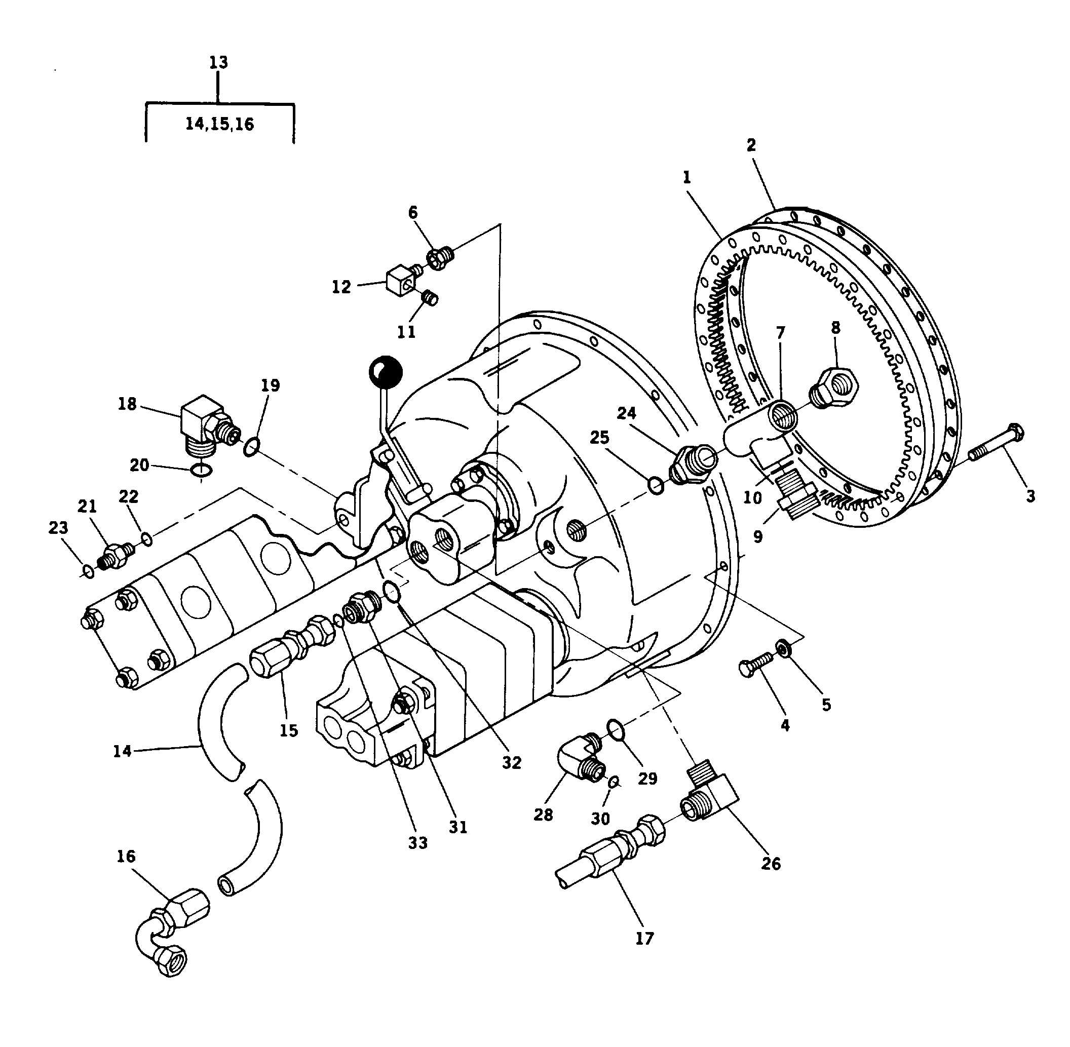Figure 68. Torque Converter Charge Pump Lines Assembly