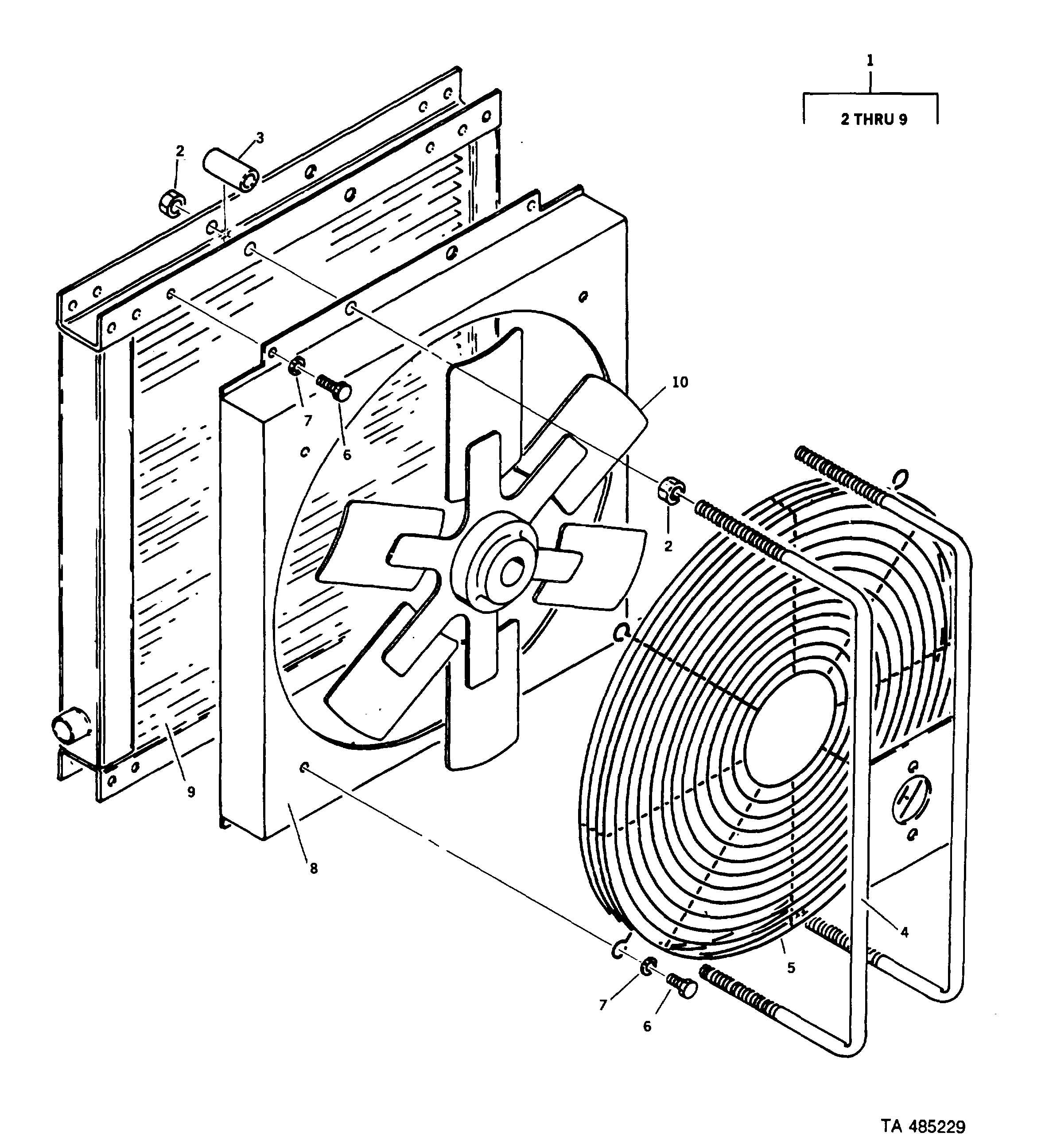 Figure 169. Hydraulic Oil /Cooler Assembly