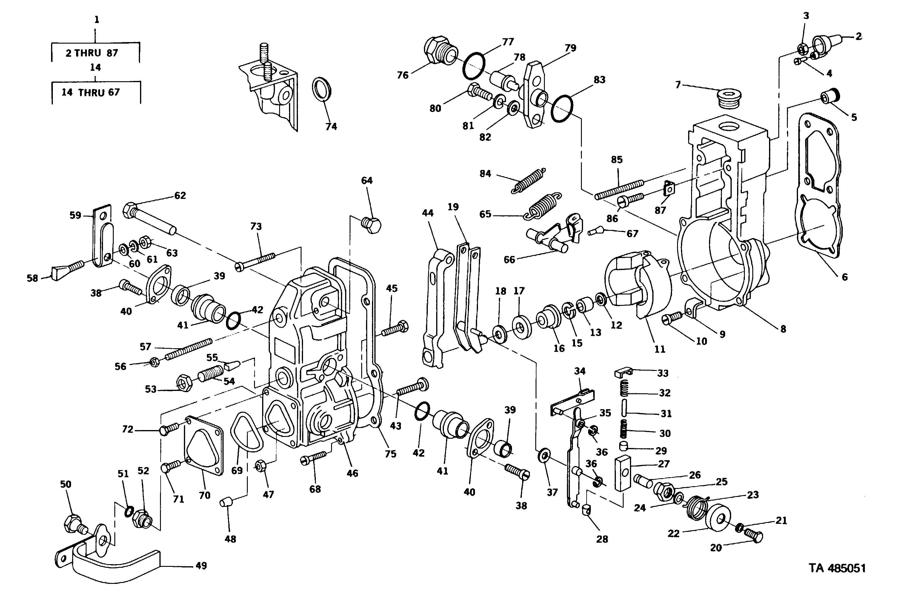 Figure 23. Governor Diesel Engine Assembly