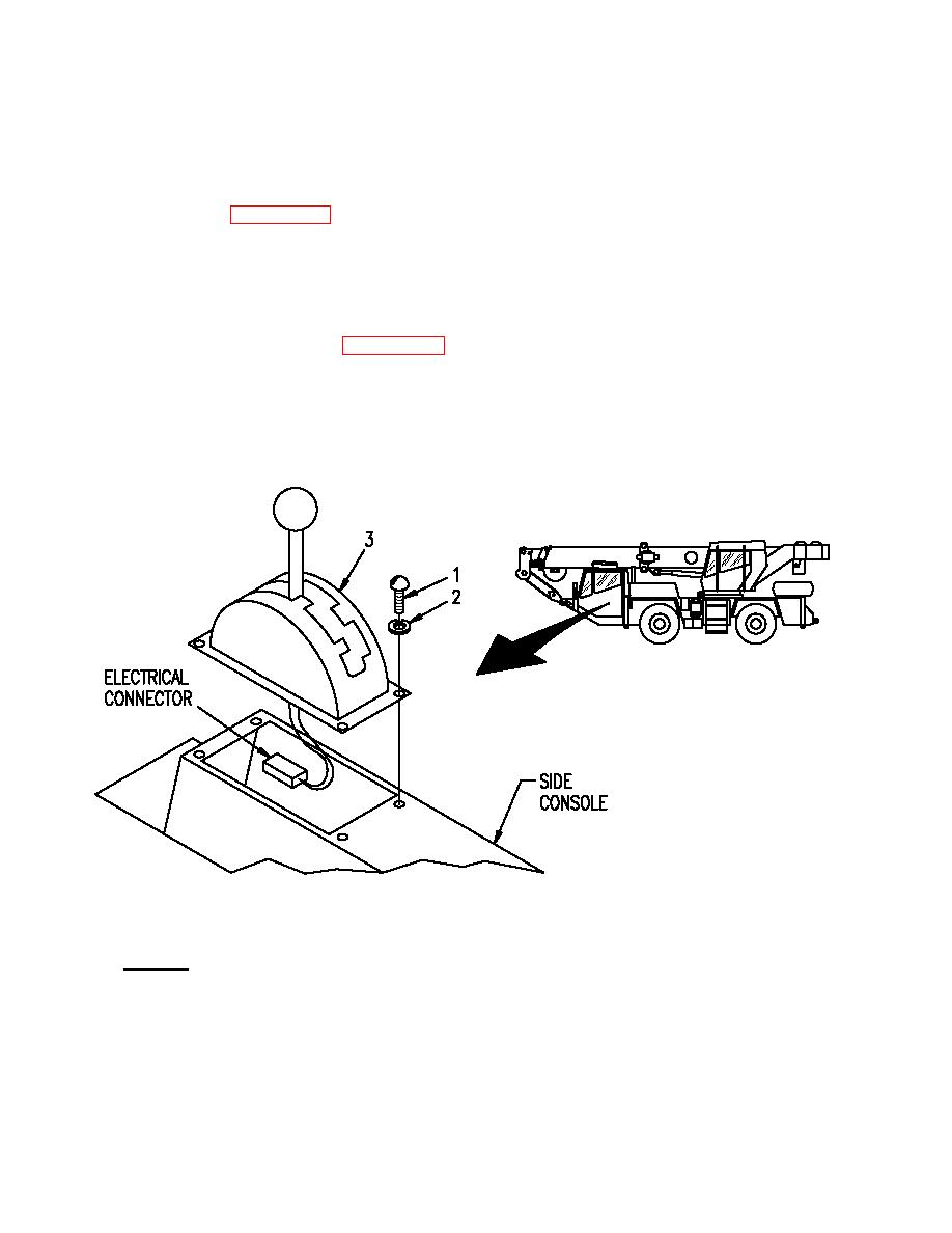 SHIFT CONTROL ASSEMBLY (CARRIER CAB)