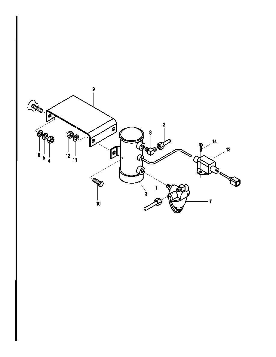 Figure 2-1-24. Superstructure Cab Heater Fuel Pump