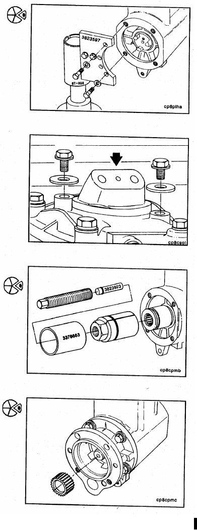 Air Compressor (Holset QE230, SS296, SS296E, QE296, SS338E