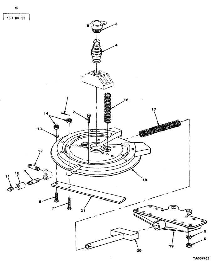 FIGURE 84. FIFTH WHEEL AND COMPONENTS