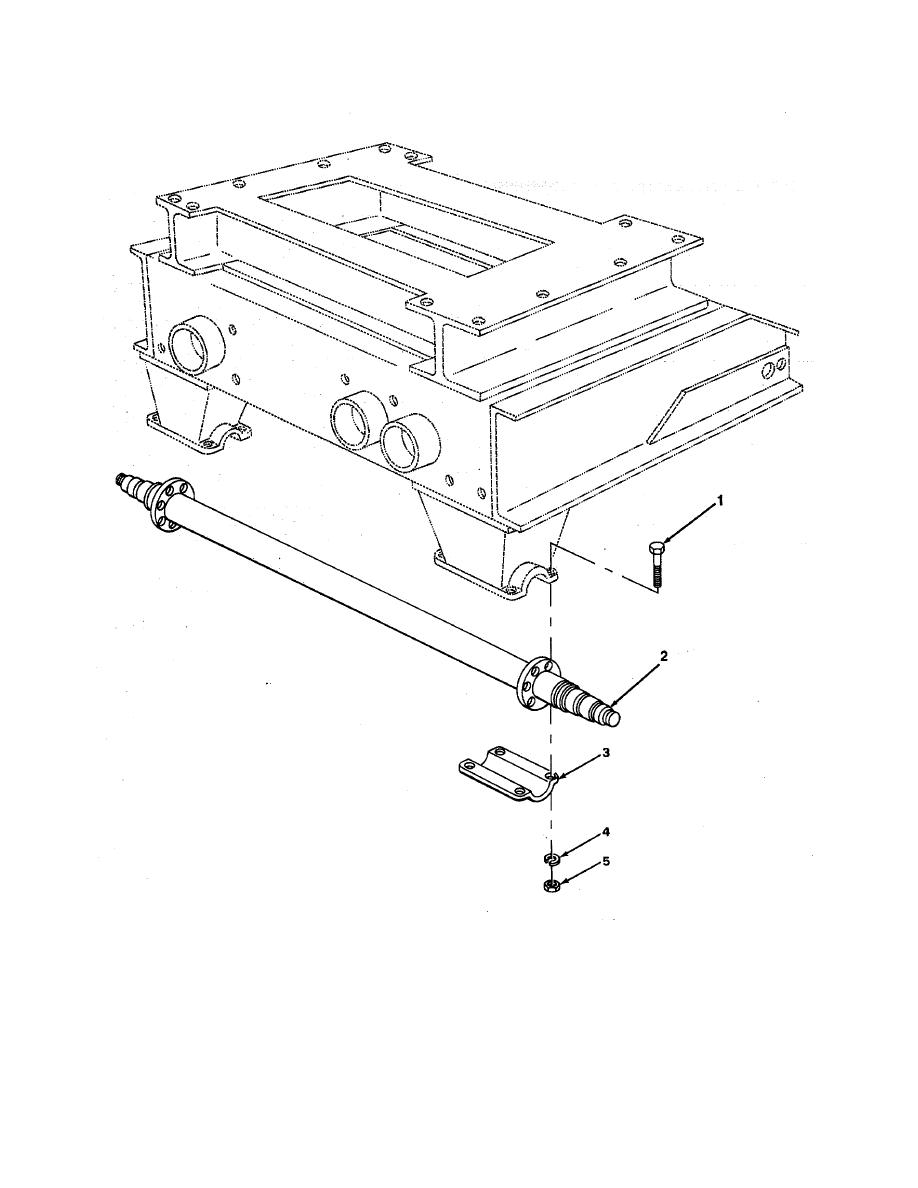 FIGURE 60. DOLLY AXLE ASSEMBLY.