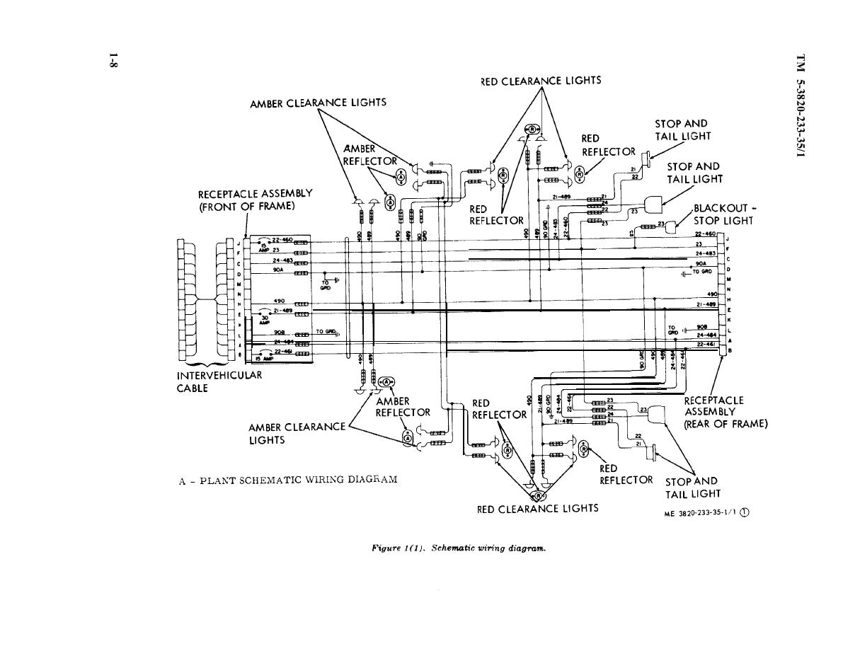 semi truck trailer plug wiring diagram balanced xlr 18 wheeler and diagrams free engine