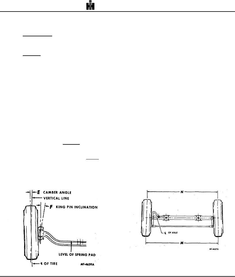 Fig. 4 Toe-In Measurement