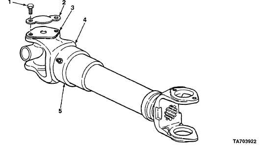 CHAPTER 7 PROPELLER SHAFT AND UNIVERSAL JOINT MAINTENANCE