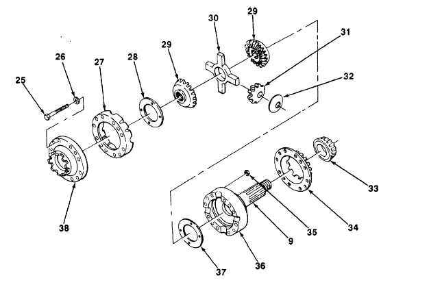 INTERAXLE DIFFERENTIAL ASSEMBLY AND HOUSING ASSEMBLY