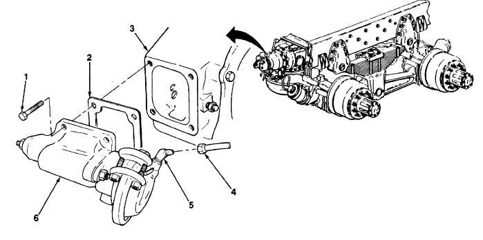 POWER DIVIDER DIFFERENTIAL AIR SHIFT CHAMBER MAINTENANCE