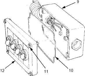 MCS REMOTE CONTROL REPAIR (M917A1 W/MCS) (Cont)