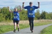 Happy runners! Love this photo.