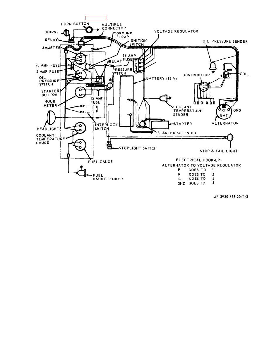 Peterbilt Tail Light Wiring Diagram, Peterbilt, Free