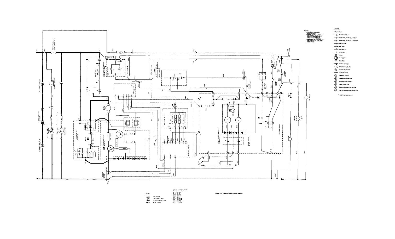 Figure 3 1 Electrical System Schematic Diagram