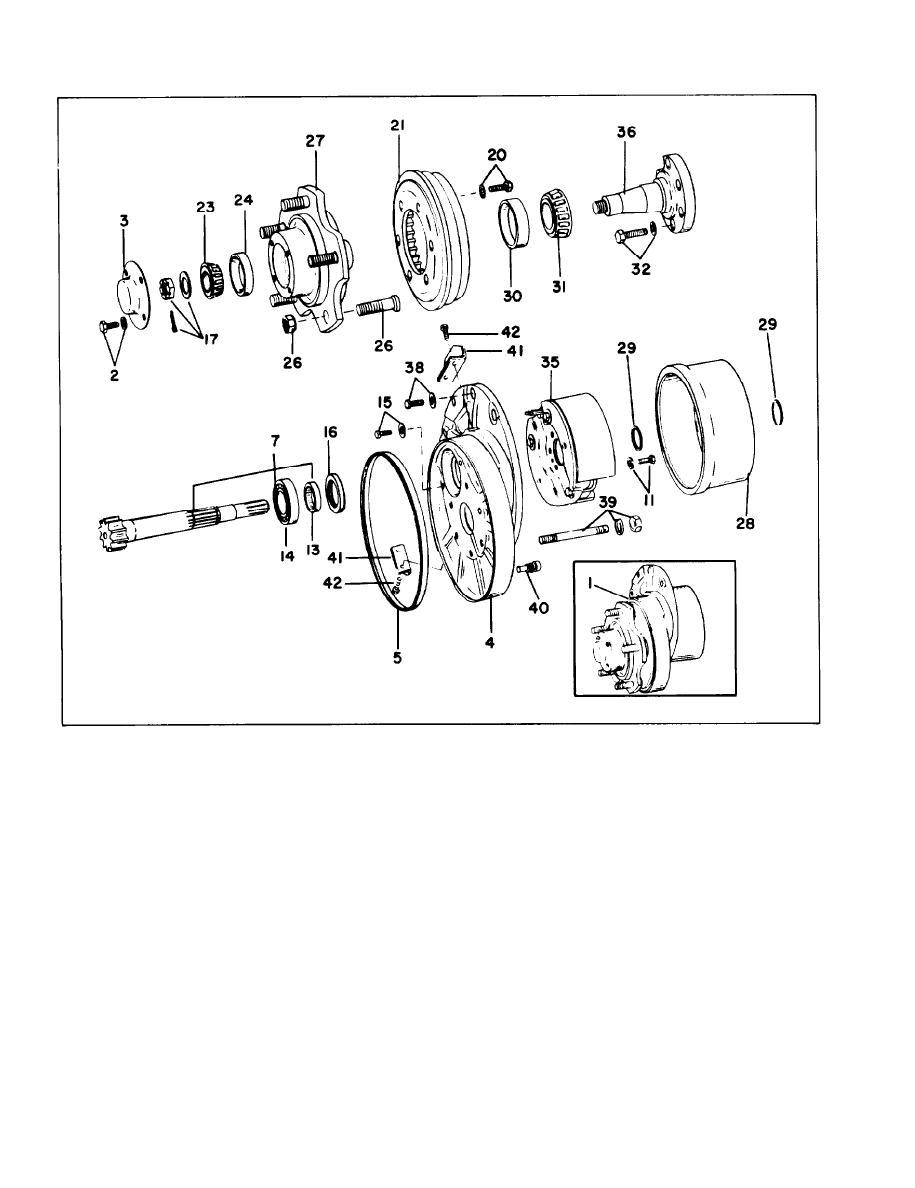 Figure 4-79. Axle End Details