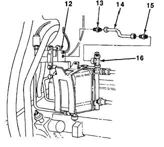 FUEL FILTER HOUSING-TO-FUEL PRESSURE DIFFERENTIAL SWITCH