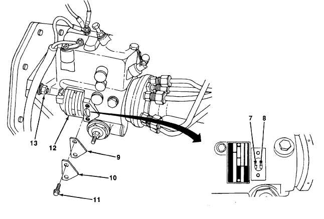 FUEL INJECTION PUMP STATIC TIMING ADJUSTMENT. (Con't