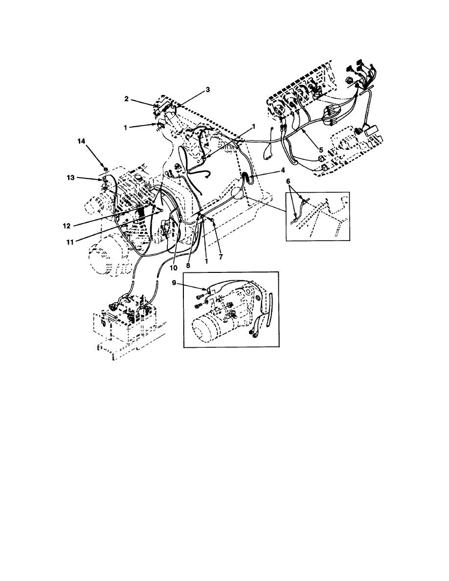 FIG. 42 CHASSIS WIRING HARNESS