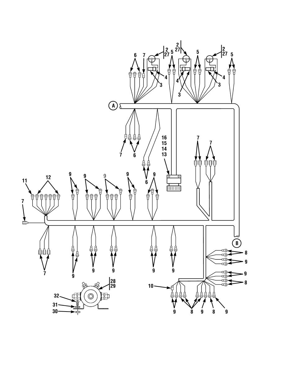 Figure 68. Cab Wiring Harness Assembly (Sheet 2 of 3)