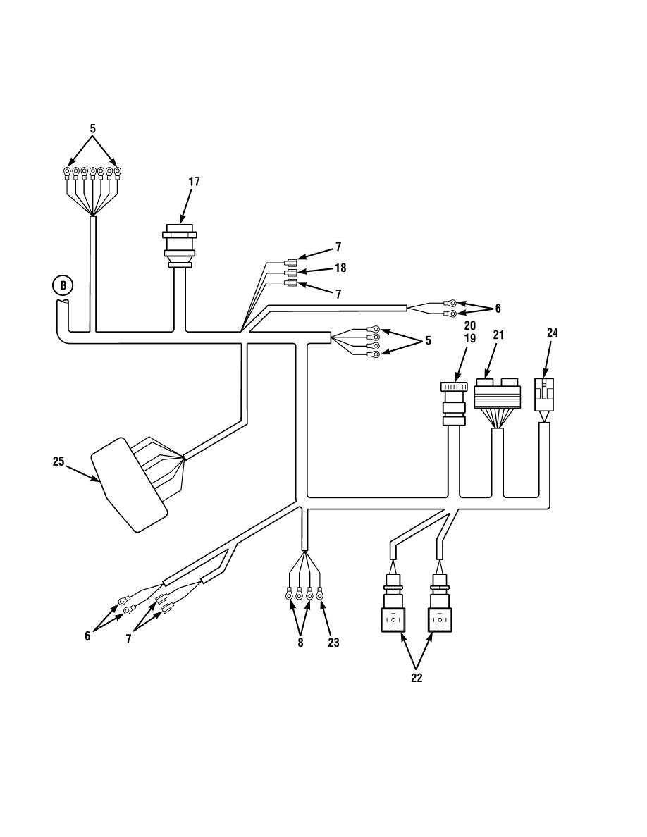 Figure 68. Cab Wiring Harness Assembly (Sheet 3 of 3)