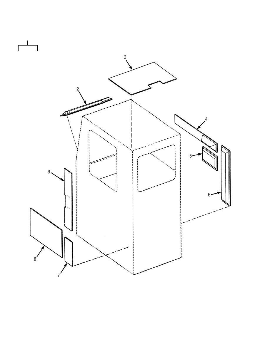 Figure 138. Cab Sound Suppression Panel