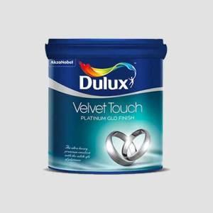 Dulux Velvet Touch - Platinum Glo Paint