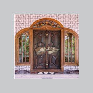Teak Wood Door Frames