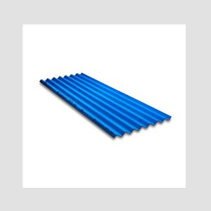 Charminar Coloured Fibre Cement Roofing Sheet (2 Meter, Blue 75 Sheets)