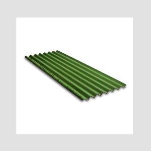 Charminar Coloured Fibre Cement Roofing Sheet (3.6 m, Green 40 Sheets)