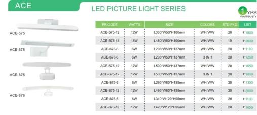 LED PICTURE LIGHT SERIES