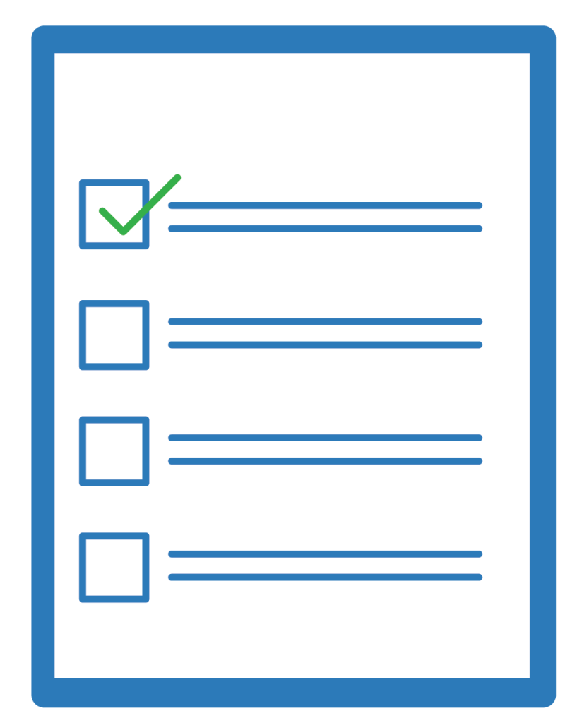 Payment Rights checklist icon | Construction Lawyer Melbourne