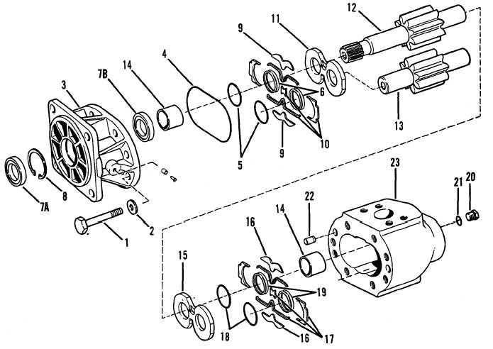 Assemble Supplemental Steering Pump