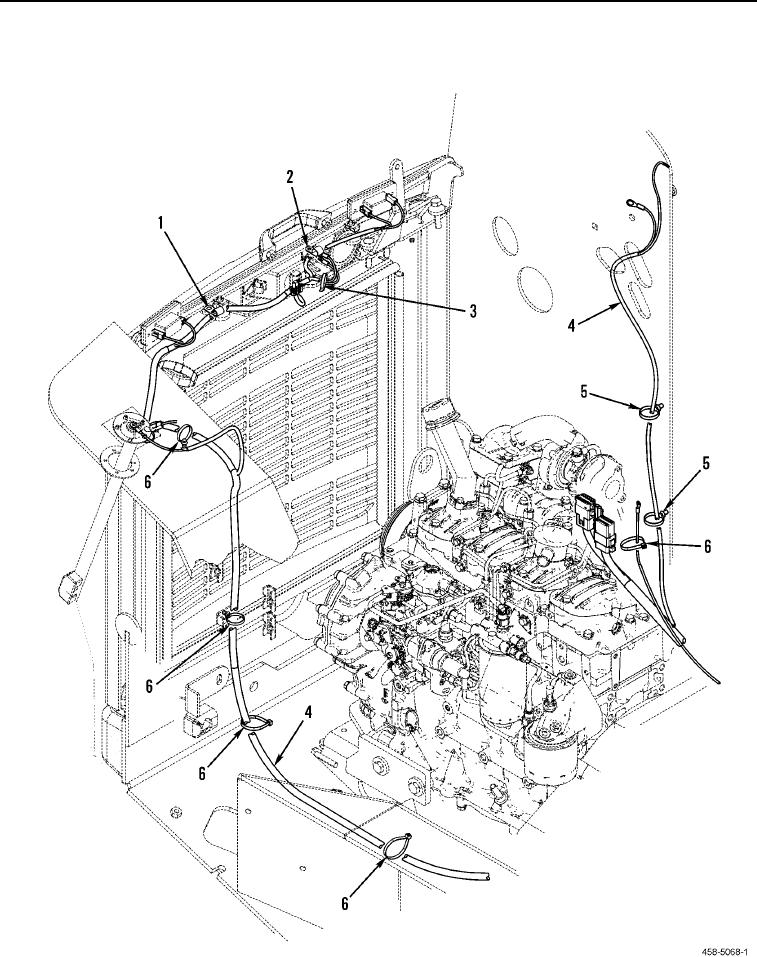 Figure 69. Chassis Electrical Harness and Related Parts