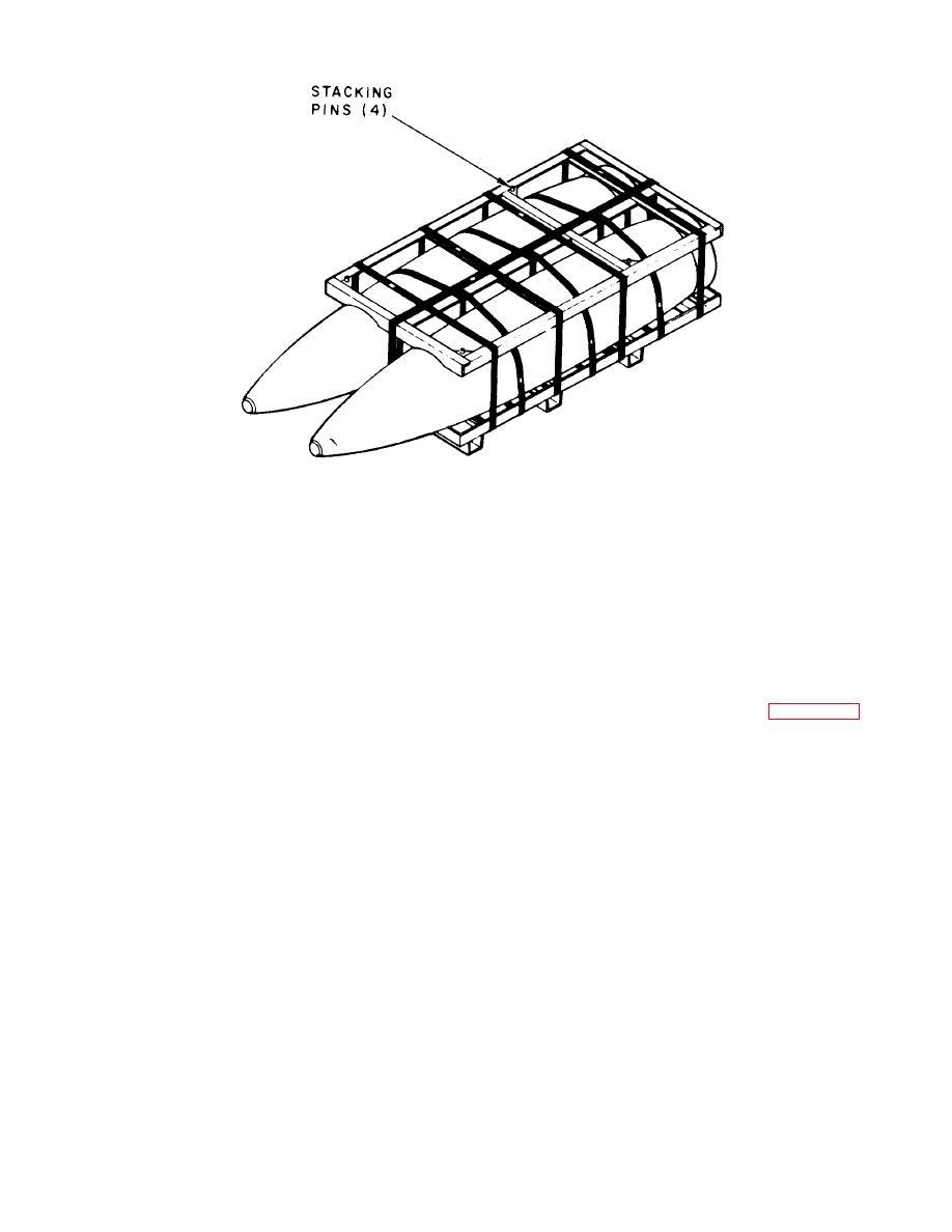 Figure 9-38. 2,000-pound-bomb pattletized unit load.