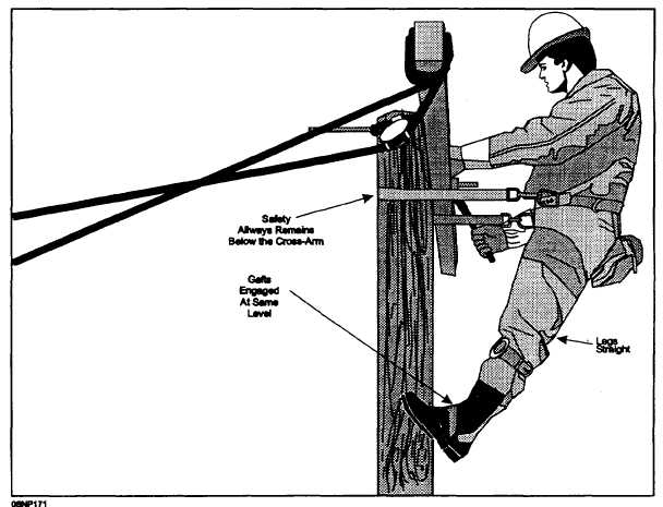 Safety in Pole Climbing