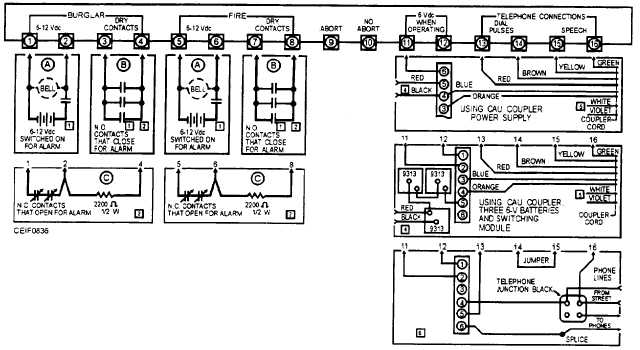 Figure 8-36.Schematic wiring diagram of a typical