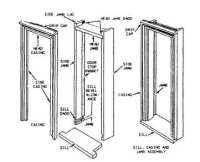 Door Frame: Components Of A Door Frame