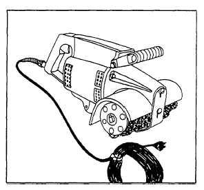 Figure 7-21.Power-driven roughing machine.