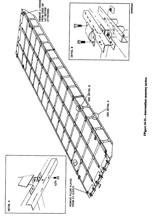 Figure 10-33. Intermediate causeway section