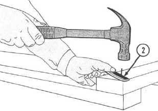 Using a Carpenter's Hammer