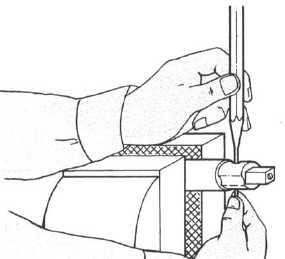 Using a Machinist's Ball Peen Hammer
